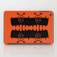 Orange AbstractArtwork iPad Case