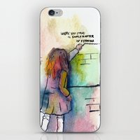 Where You Stand Is Simpl… iPhone & iPod Skin