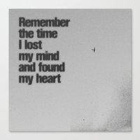 Remember The Time... Canvas Print