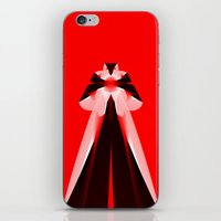 Red Icon iPhone & iPod Skin