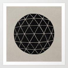 Geodesic Art Print
