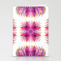 Grazioso Bold Kaleido Pink Stationery Cards