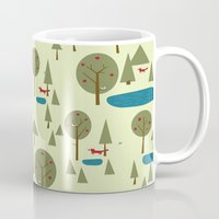 Fox in the Forest Mug