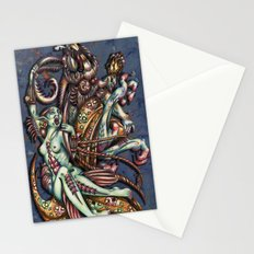 Mentalice and the White Rabbit Stationery Cards