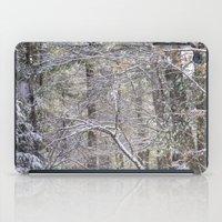 snowy road  iPad Case