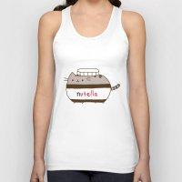 Nutella Cat Unisex Tank Top