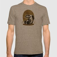 Smell Like Mens Fitted Tee Tri-Coffee SMALL