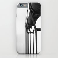 iPhone & iPod Case featuring Golden Gate Bridge by Simon Trapp