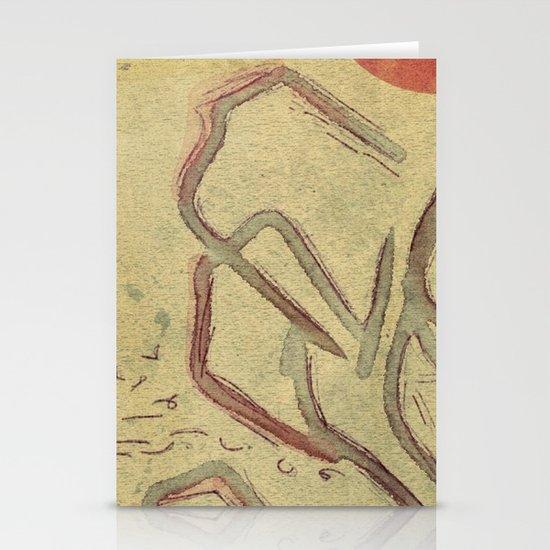 bulls [AGAINST tauromaquia] Stationery Card