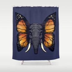 Elepfly Shower Curtain