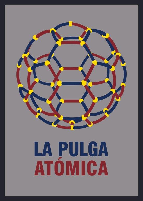 Lionel Messi – The 'Atomic' Flea Art Print