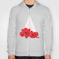 Floral Triangle Hoody