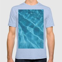 Water / Swimming Pool (W… Mens Fitted Tee Athletic Blue SMALL