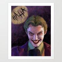 Harley's Joker Art Print
