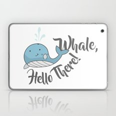 Whale, Hello There! Laptop & iPad Skin