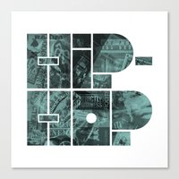 Hip Hop Canvas Print