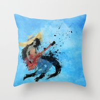 Sweet Licks Throw Pillow