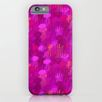 iPhone & iPod Case featuring Jellyfish Pink by ts55