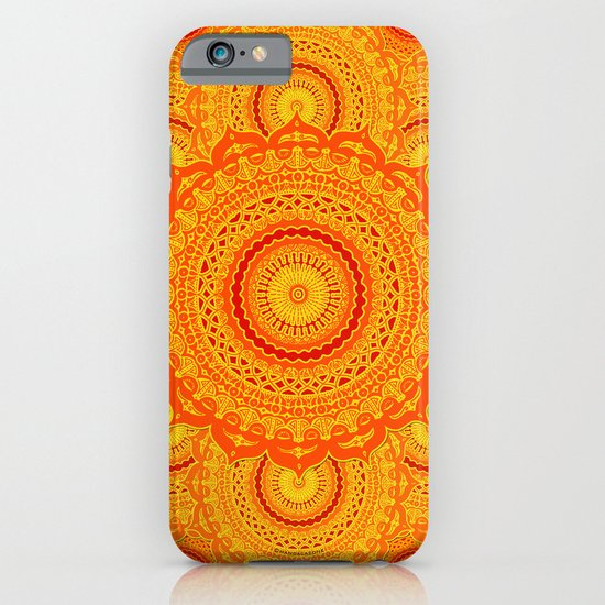 omulyána dancing gallery mandala iPhone & iPod Case