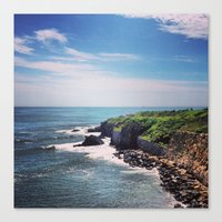 Newport Cliff Walk Canvas Print