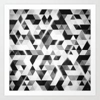 Amped (variant) Art Print