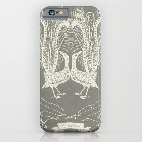 Lyrebird (smoke grey) iPhone & iPod Case