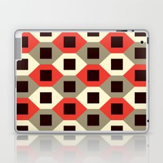 Hexagon pattern (red) Laptop & iPad Skin