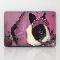 Pink Bunny Princess Print iPad Case