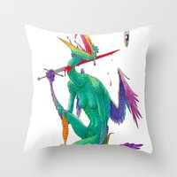Self Sacrifice Throw Pillow