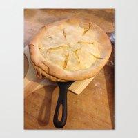 farm house pie Canvas Print