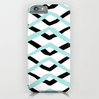 Pattern, Turquoise And B… iPhone 6 Slim Case