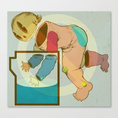 Baby Bucket Canvas Print