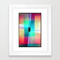 Constructs #1 (35mm Mult… Framed Art Print