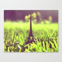 The Eiffel Tower In My B… Canvas Print