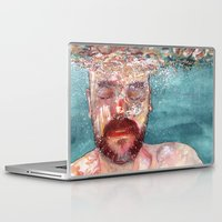watercolour Laptop & iPad Skins featuring Watercolour by Jose Manuel Hortelano-Pi