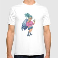 Harpy Gal Mens Fitted Tee White SMALL