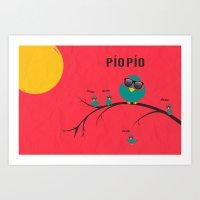 Pío Pío, PÍO PÍO Art Print