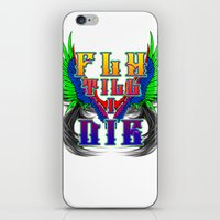 Fly Till I Die iPhone & iPod Skin