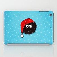 Cute Dazzled Bug Christmas iPad Case
