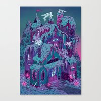 December House Canvas Print