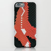 iPhone & iPod Case featuring Red Sox by Amy Joyce
