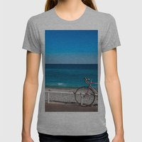 Beach And The Bike - Nic… Womens Fitted Tee Athletic Grey SMALL