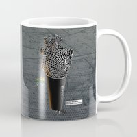 CRZN Dynamic Microphone Mug
