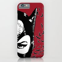 Red Catwoman iPhone 6 Slim Case