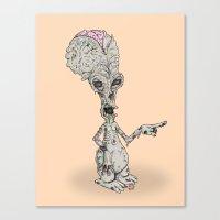 Zombie Roger Canvas Print