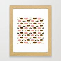 Donuts Framed Art Print