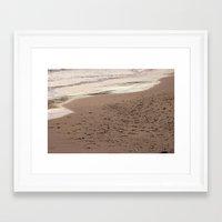 Beach Sand 7136 Framed Art Print