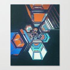 HEXOUT (01.23.16) Canvas Print