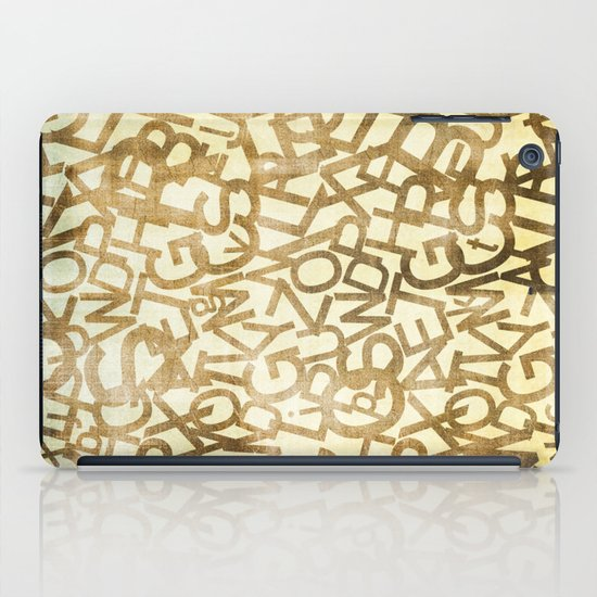 Din pattern iPad Case
