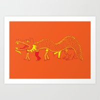Clever Disguise Art Print
